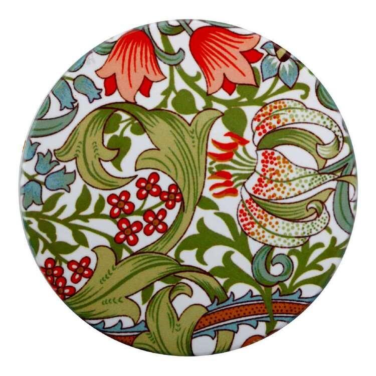 Casa Domani William Morris Garden Lily 10 cm Ceramic Coaster