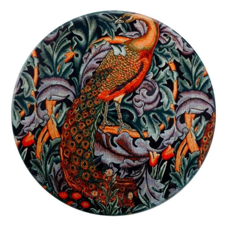 Casa Domani William Morris Peacock 10 cm Ceramic Coaster
