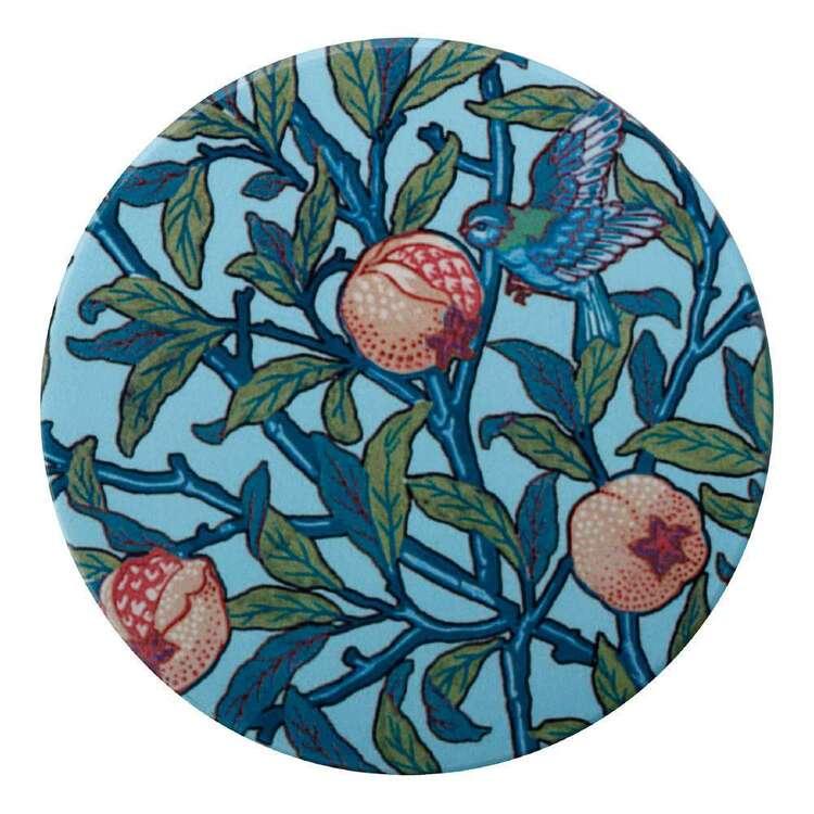 Casa Domani William Morris Bird & Pom 10 cm Ceramic Coaster