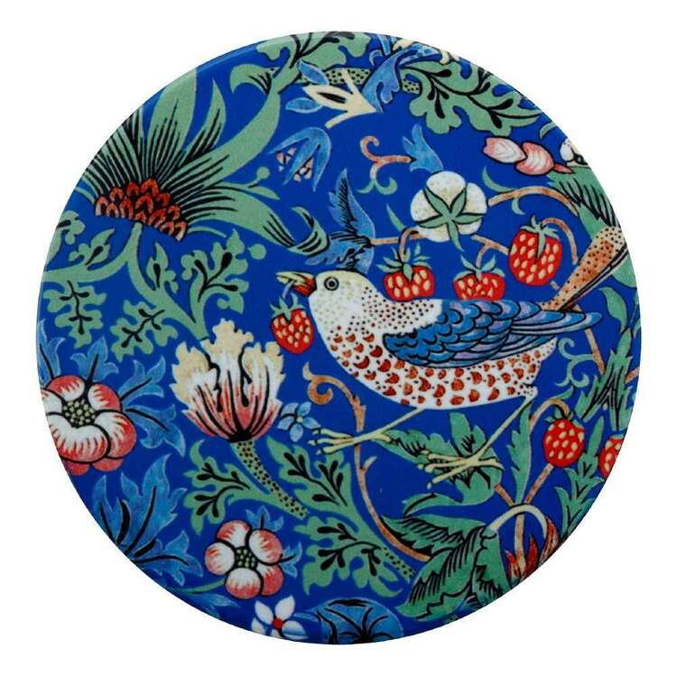 Casa Domani William Morris Strawberry Thief 10 cm Ceramic Coaster
