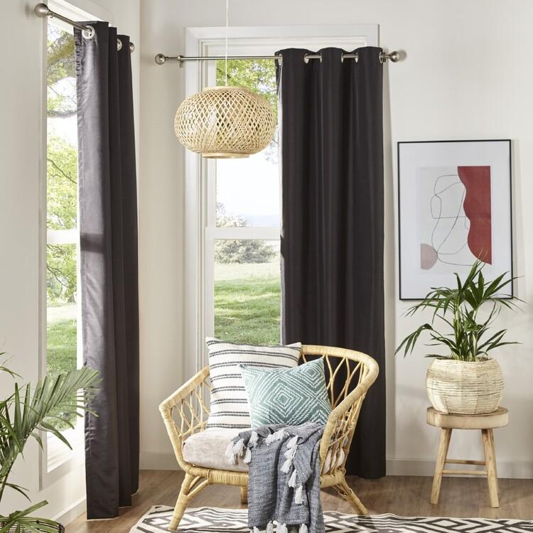 KOO Silken Blockout Eyelet Curtains