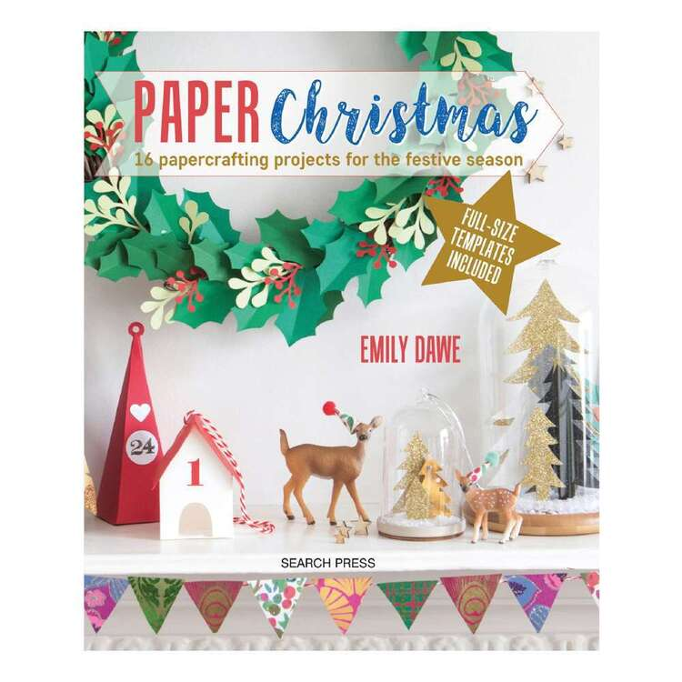 Search Press Paper Christmas Knitting Book