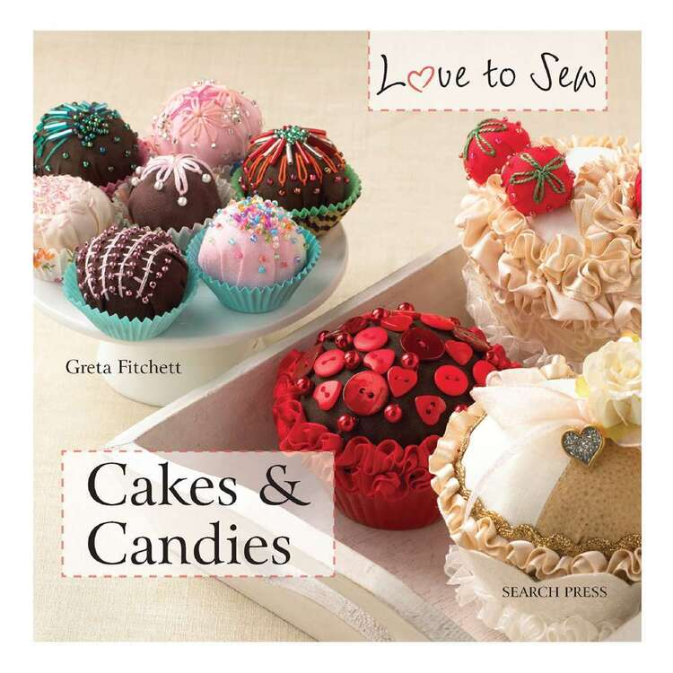 Search Press Love to Sew Cakes & Candles