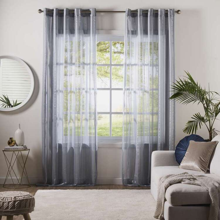 Gummerson Seattle Sheer Eyelet Curtains
