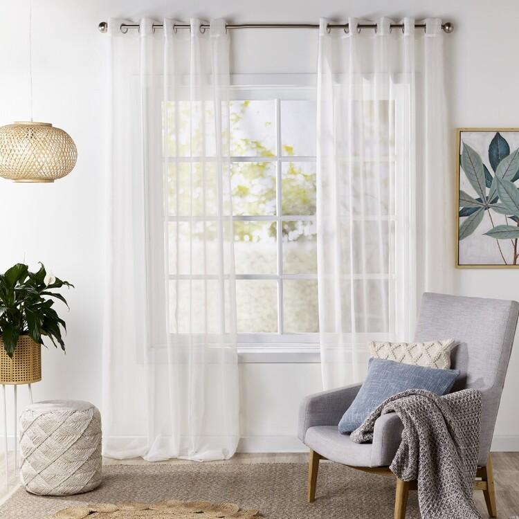 Gummerson Capri Eyelet Sheer Curtains