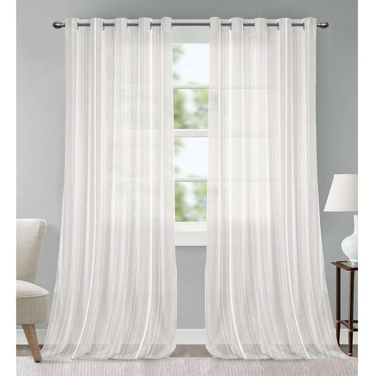 Gummerson Cascade Sheer Eyelet Curtains