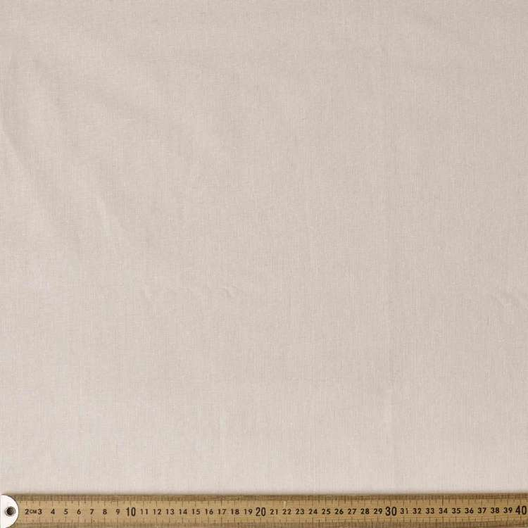 Plain 144 cm Linen Cotton Fabric