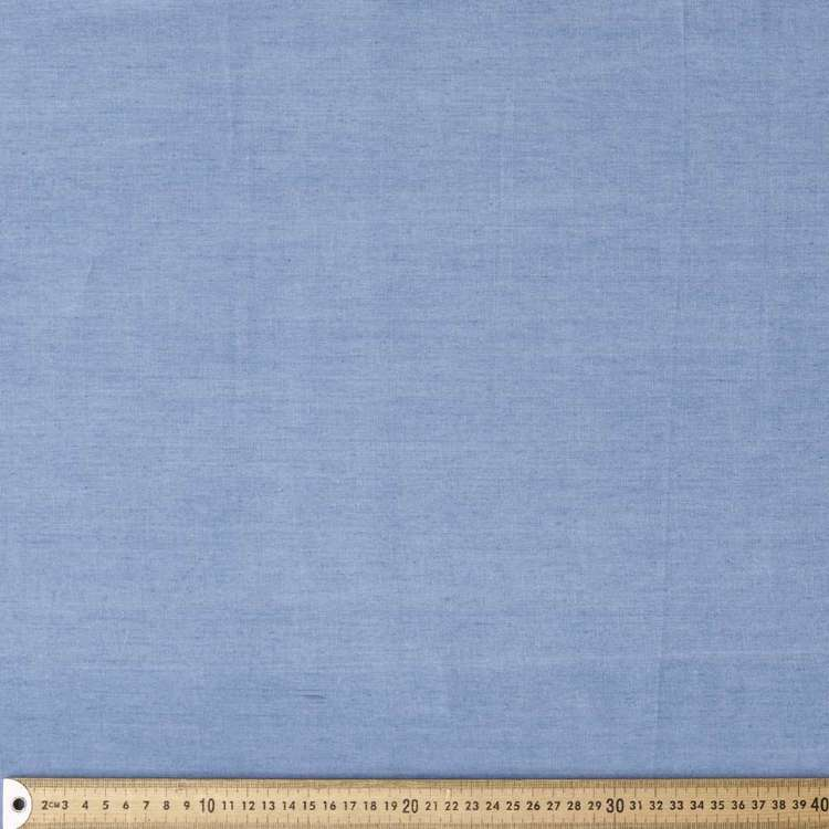 Plain Light Weight Denim 144 cm Fabric