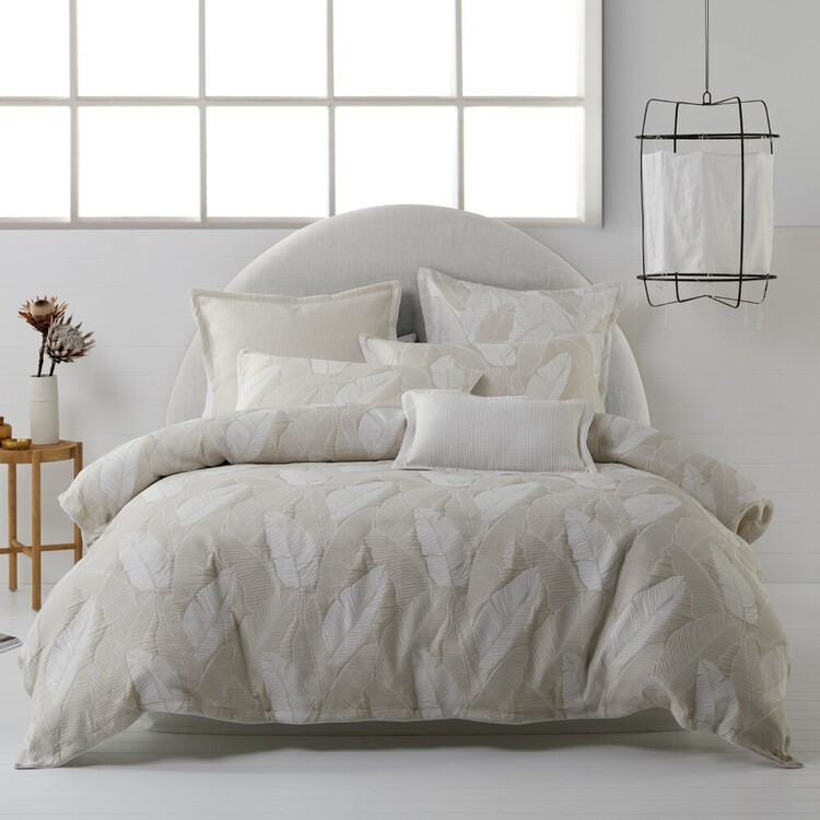Platinum Tahiti Quilt Cover Set
