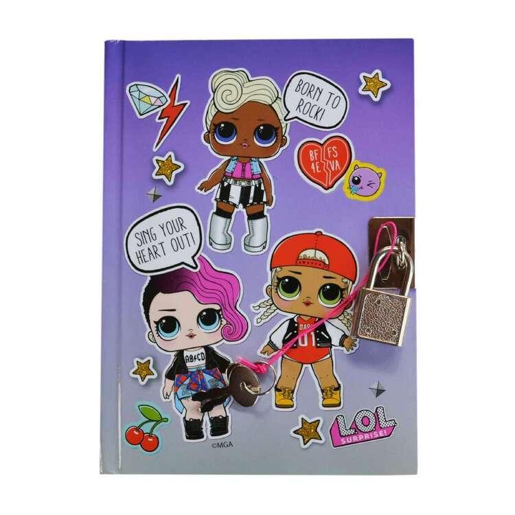 Lol Surprise Lol Born To Rock Lockable Notebook