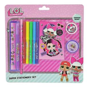 Lol Surprise Lol Born To Rock Super Stationery Set
