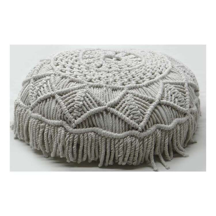 Ombre Home Harlow Nobia Round Cushion