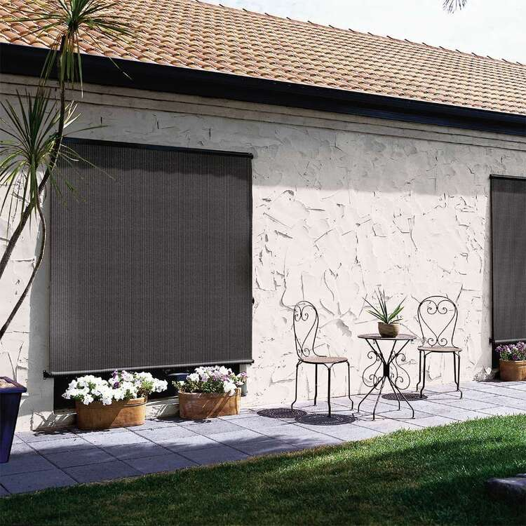 Windowshade Outdoor Mesh Roll Up Blind