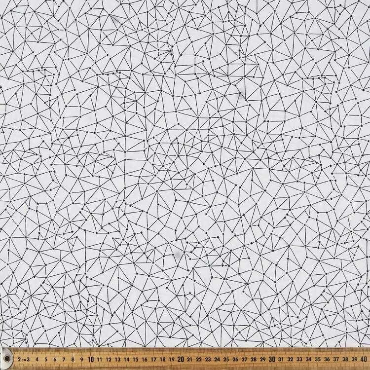 Monotones Constellations Cotton Fabric