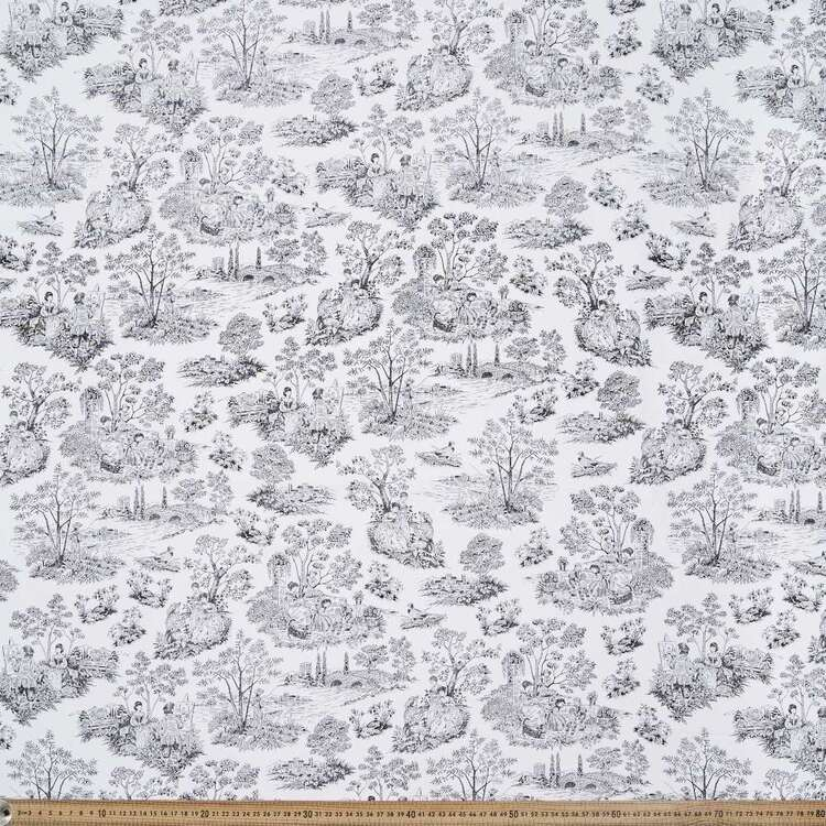 Monotones Toile Cotton Fabric