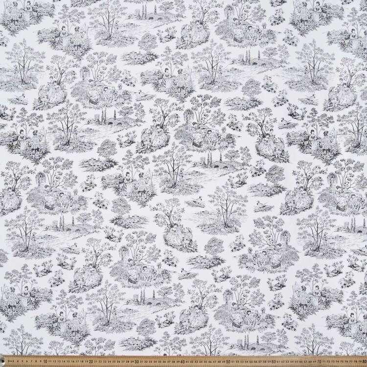 Monotones Toile Cotton Fabric