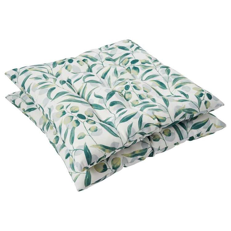 Emerald Hill Gumleaf Printed 2 Pack Chair Pad