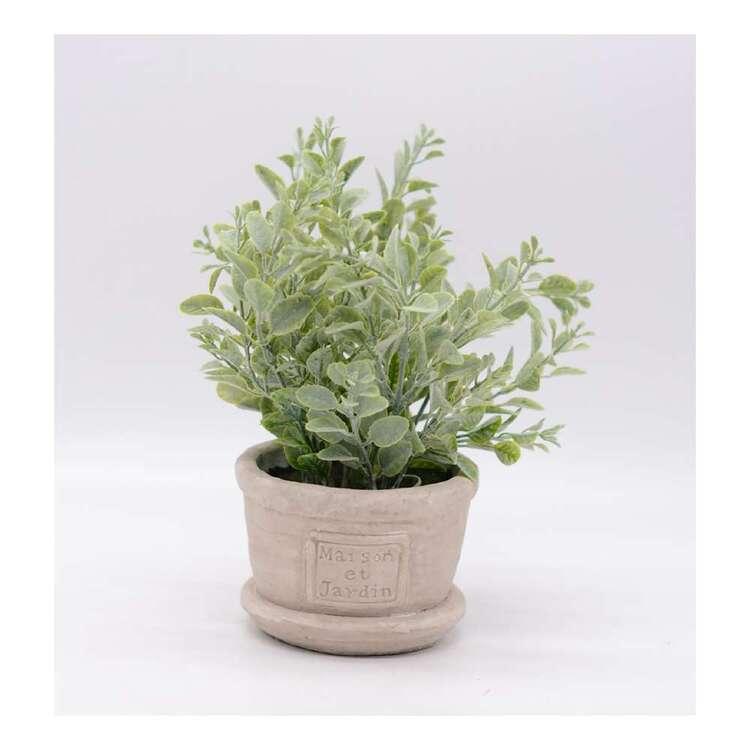 Living Space Flocking Leaves Pot #2