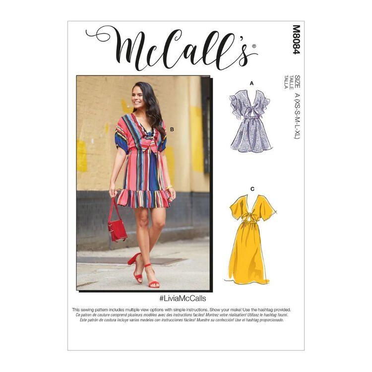McCall's Pattern M8084 #LiviaMcCalls - Misses' Dresses