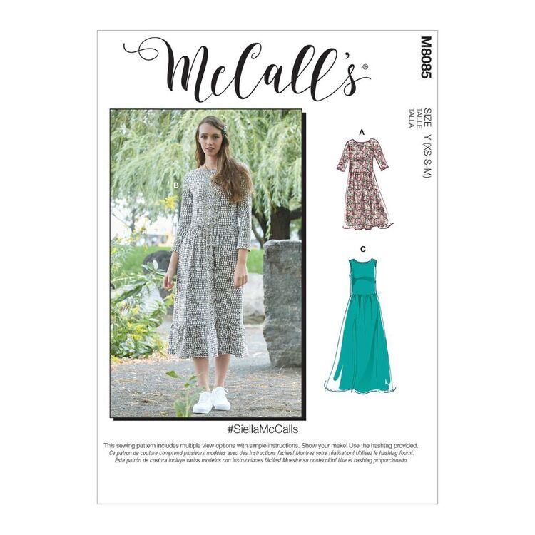 McCall's Pattern M8085 #SiellaMcCalls - Misses' Dresses