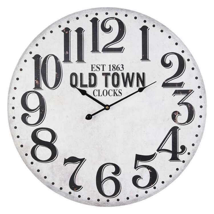 Cooper & Co Old Town MDF Clock