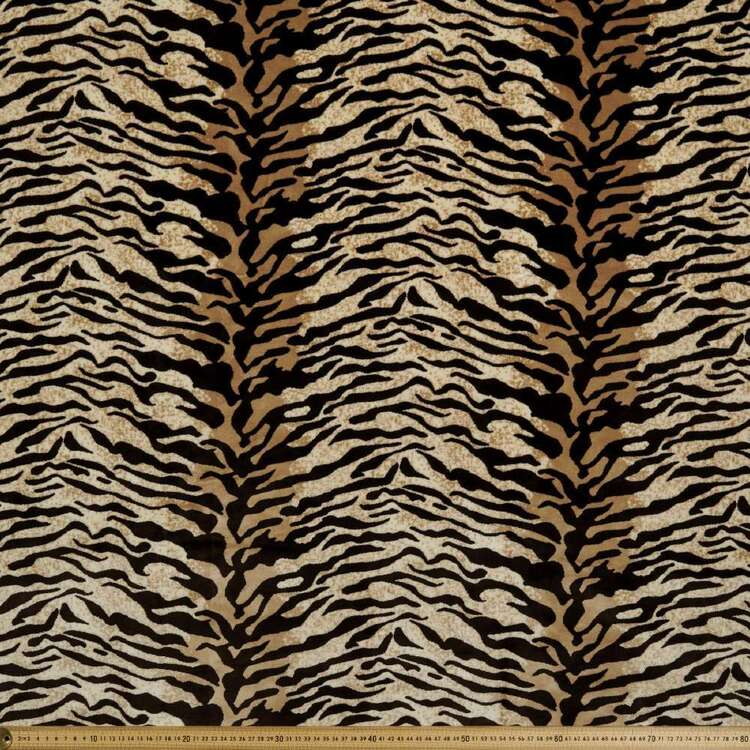 Decorative Tiger Upholstery Fabric