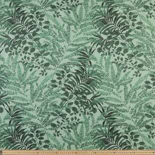 Fern Linen Look Canvas