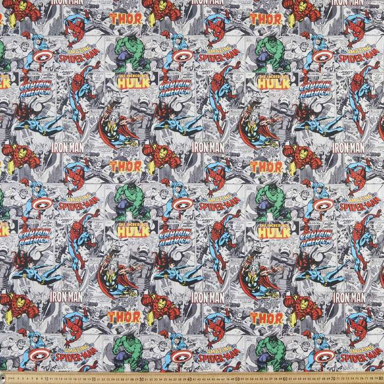 Marvel Hero Cartoon Cotton Fabric