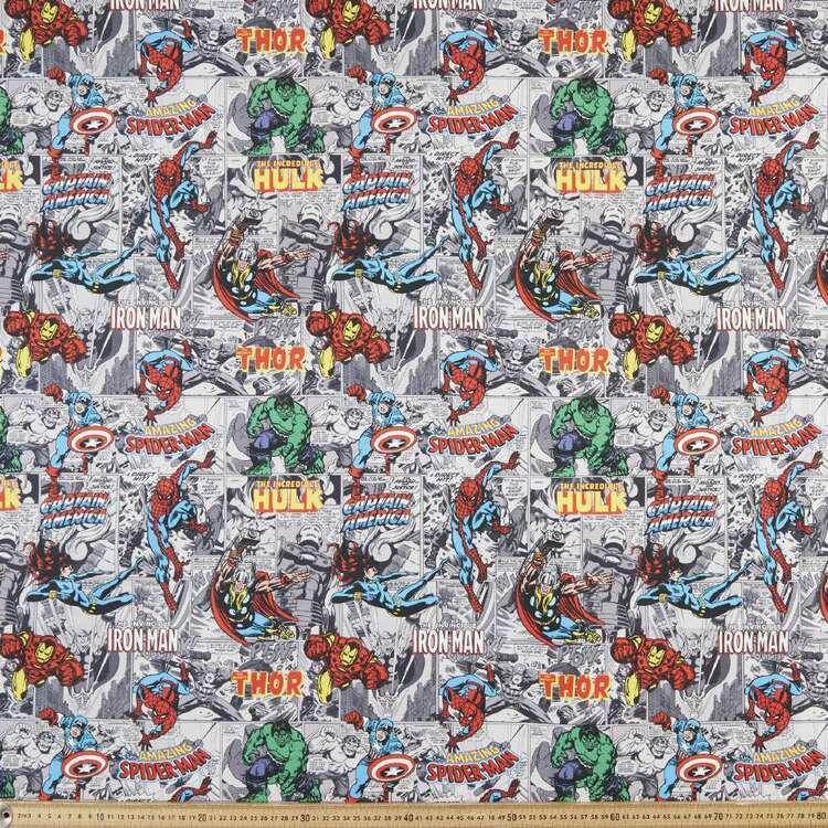 Marvel Hero Cartoon Cotton Fabric