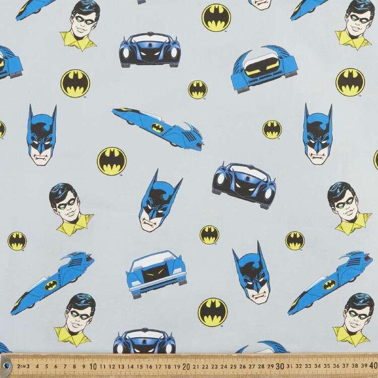 Batman & Robin Batmobile Cotton Fabric