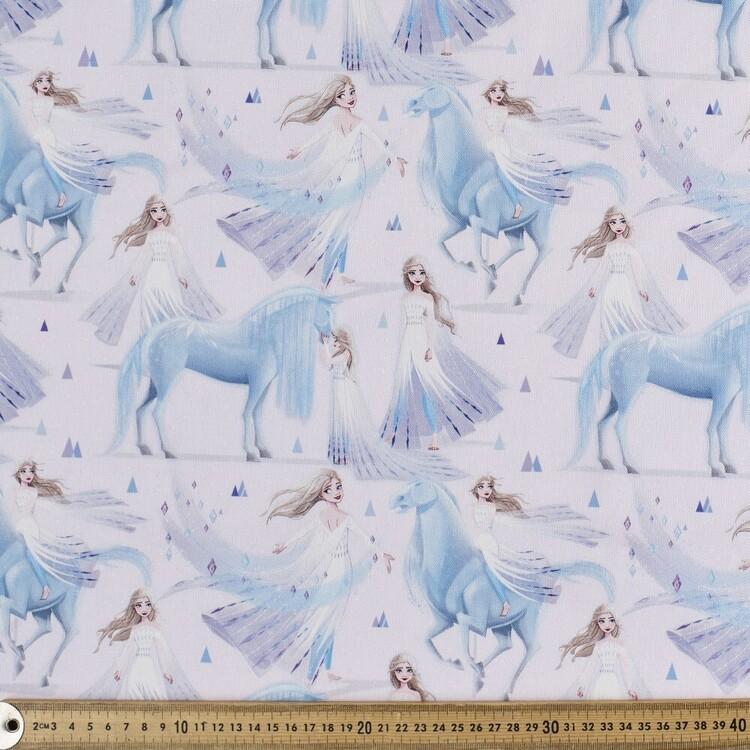 Frozen Spirit Elsa Printed Decorator Fabric