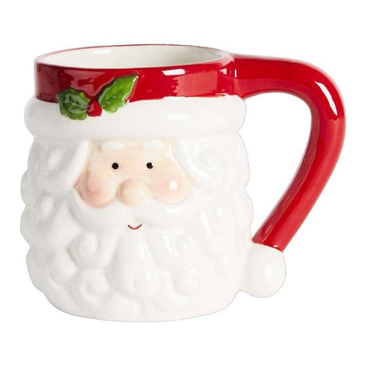Living Space Festive Santa Xmas Mug