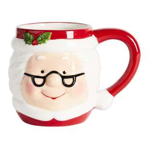 Living Space Festive Mrs Claus Xmas Mug