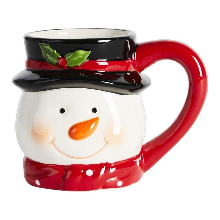 Living Space Festive Snowman Xmas Mug