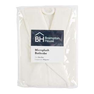 Brampton House Microplush Bathrobe