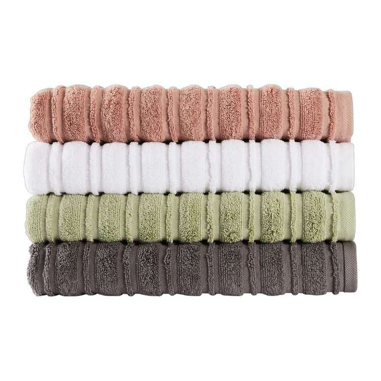 Logan & Mason Kyla Ribbed Towel Collection