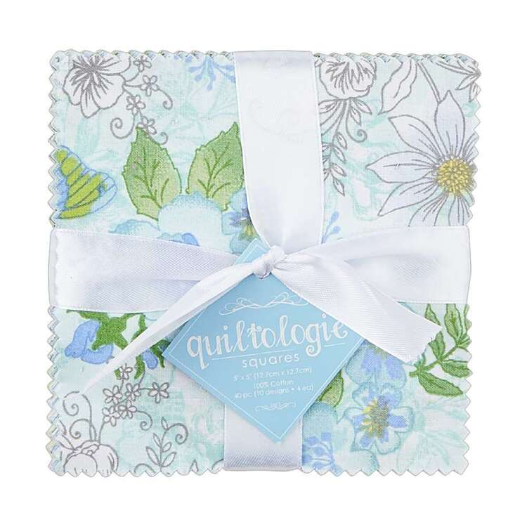 Spring Garden Charm Pack Multicoloured