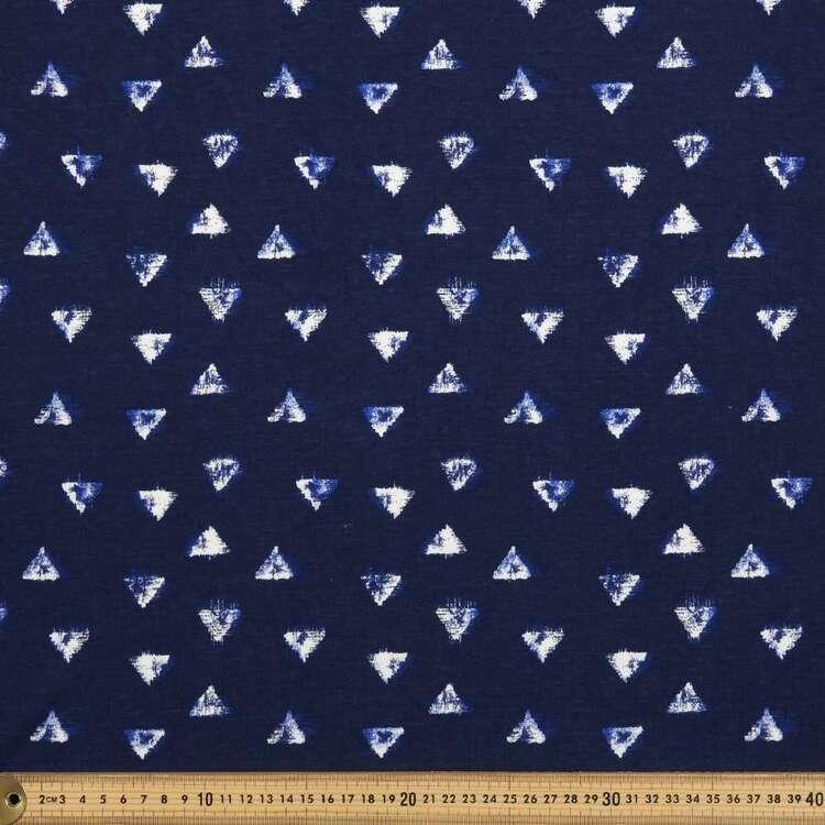 Tri Tie Printed 112 cm Organic Cotton Jersey Fabric