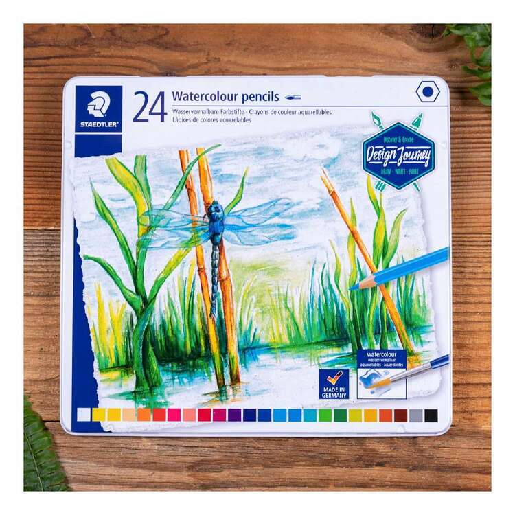 Staedtler Watercolour Pencil Tin