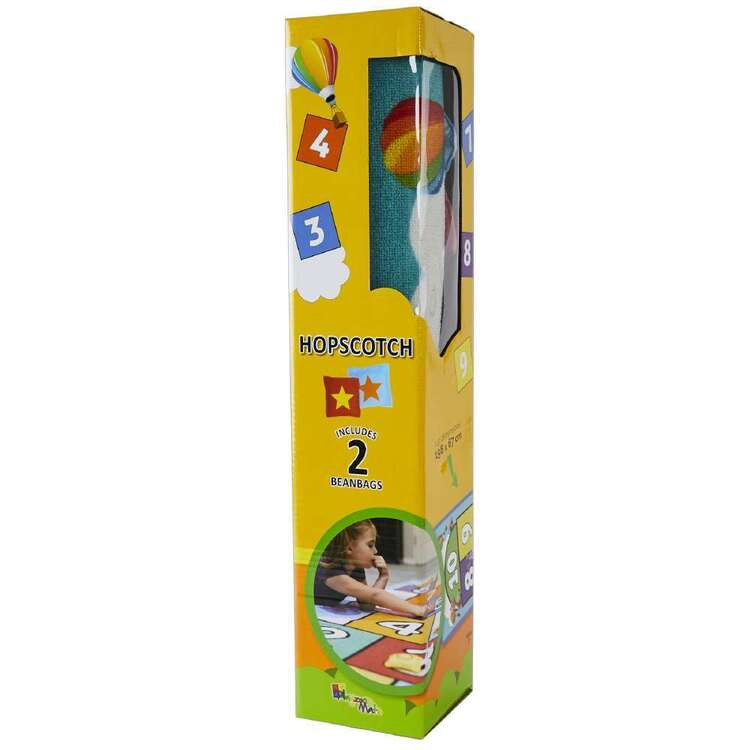 Playzone Hopscotch Rug And Toy Pack