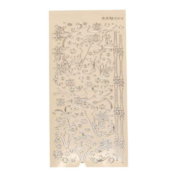 Couture Creations Art Deco Deers Sticker Sheet