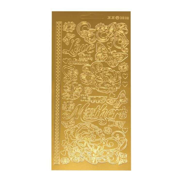 Couture Creations Art Deco Mum Sticker Sheet