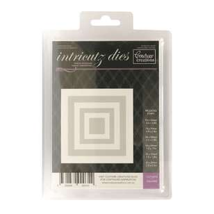 Couture Creations Nesting Squares Die
