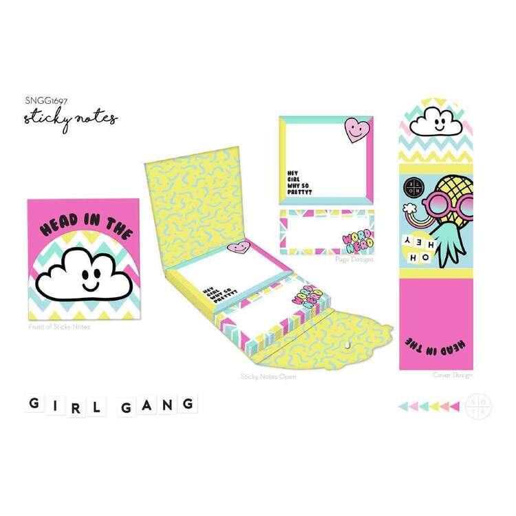 Girl Gang Sticky Notes