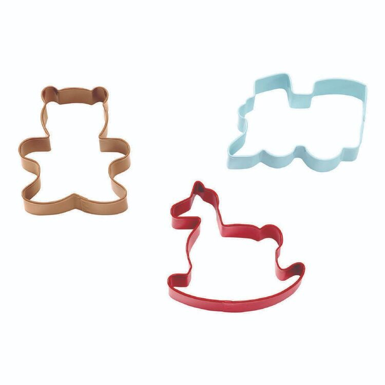 Wilton Homemade 3 Piece Cookie Cutter Set