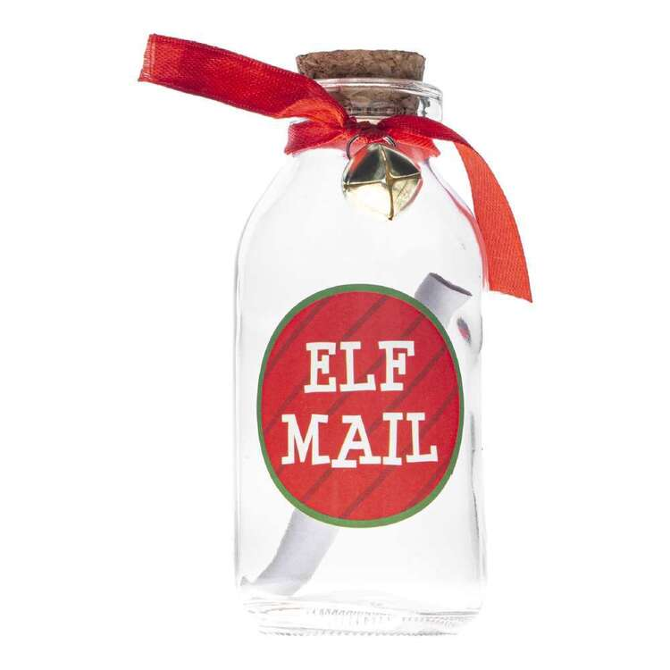 Elves Behavin' Badly Elf Message In A Bottle