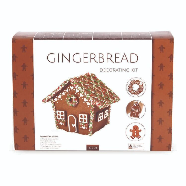 Roberts Confectionery Gingerbread Baking Decorating Kit