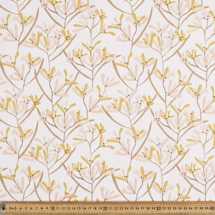 Jocelyn Proust Digital Kangaroo Paw Cotton Fabric