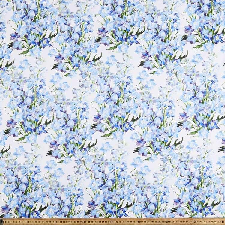 Blue Bell Digital Printed 127 cm Sateen Fabric