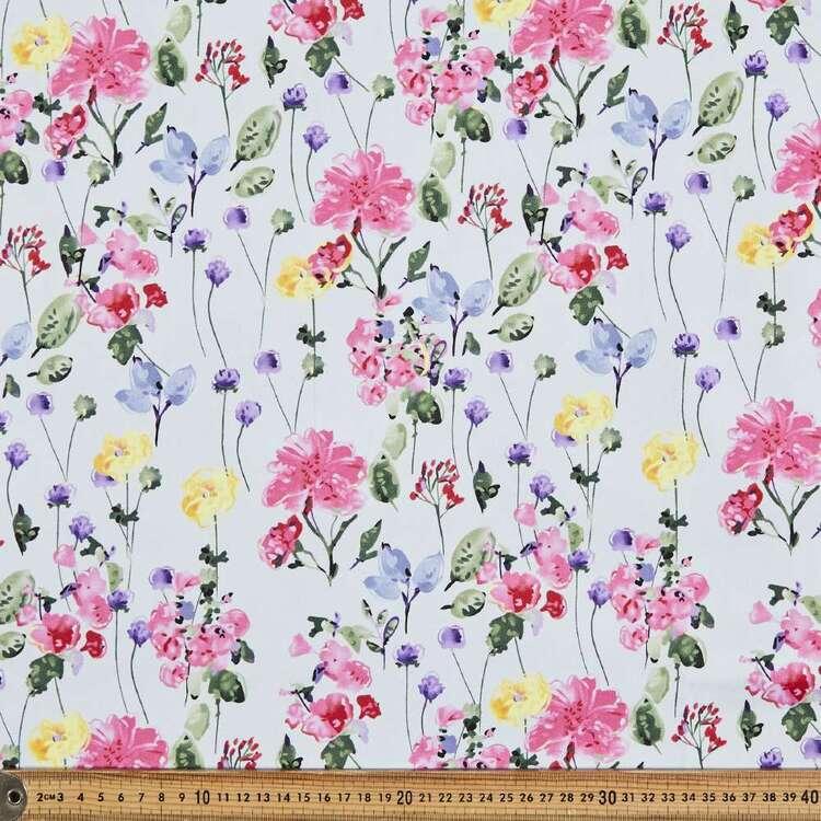 Scatterfall Digital Printed 127 cm Sateen Fabric